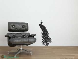 Peacock Bird Vinyl Wall Art Decor Stickers Decals 877