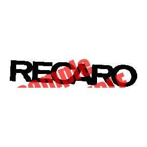 RECARO LOGO WHITE DECAL STICKER VINYL