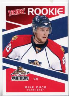 2010 11 Upper Deck Victory #221 Mike Duco RK Rookie