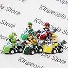 Super Mario Bros Kart Wii Push Along Racers Mario Car