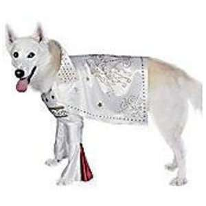 Dog Fancy Dress Costume Elvis   Size Small Toys & Games