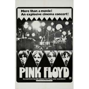 Echoes Pink Floyd Poster 27x40 David Gilmour Nick Mason Roger Waters