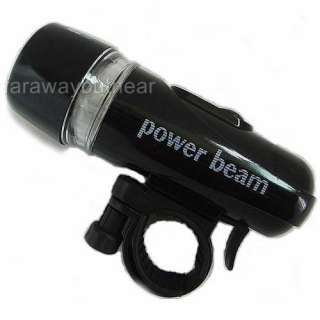 New Bicycle High light LED Flash Head Light Bike Torch & Tail Rear