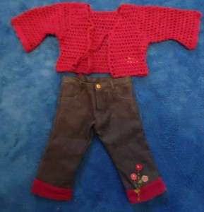 AMERICAN GIRL DOLL FLOWER POWER OUTFIT 2001 RETIRED HTF