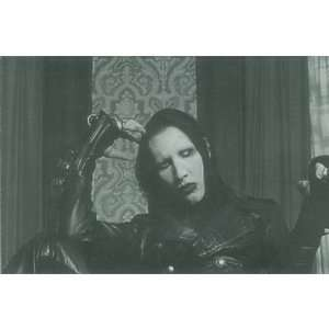 (4x6) Marilyn Manson Music Postcard