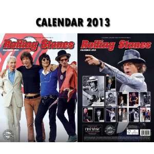 ROLLING STONES 2013 CALENDAR + FREE ROLLING STONES KEY