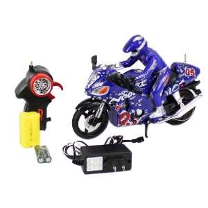 110 Scale Full Function Motor Tracer RC Motorcycle with