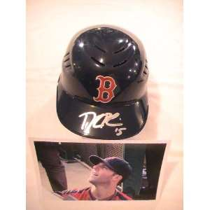 DUSTIN PEDROIA SIGNED AUTOGRAPHED BOSTON RED SOX BASEBALL