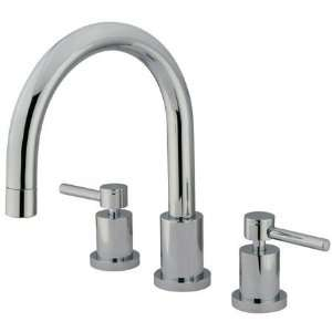 Elements of Design ES8326DL Concord Roman Tub Filler, Polished Nickel