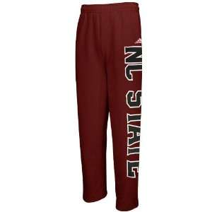 NCAA adidas North Carolina State Wolfpack Red Word Plus