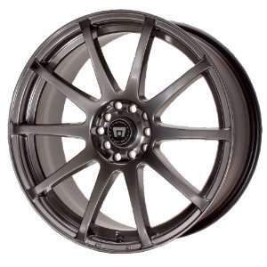 Motegi SP10 15x7 Black Wheel / Rim 4x4.5 with a 42mm Offset and a 72