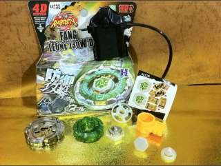 Beyblade Metal Fusion Fight 4D BB 106 FANG LEONE W2D @