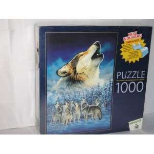 Howling Wolf Pack Perfalock Puzzle with Sturdy Foam Back