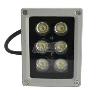 6W 85V 265V 600LM Outdoor LED Flood Light Lamp Pure White Spotlight