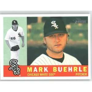 Mark Buehrle / Chicago White Sox   2009 Topps Heritage Card # 1   MLB