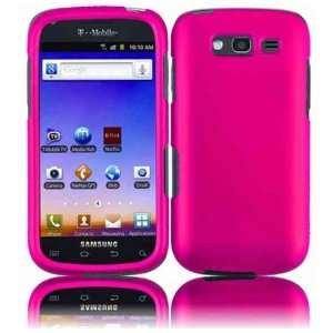 VMG Samsung Blaze 4G Hard Case Cover 3 ITEM Combo   HOT PINK Hard 2 Pc