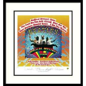 The Beatles Magical Mystery Tour (album cover) Framed