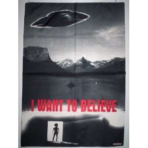 X FILES 42x30 Inches Cloth Textile Fabric Poster