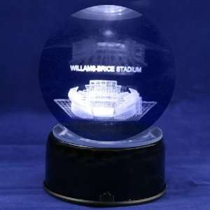 Carolina Gamecocks Football Stadium 3D Laser Globe