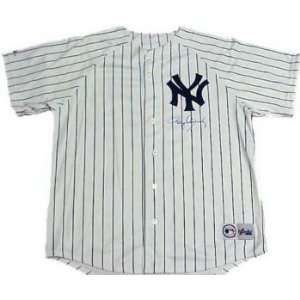 Roger Clemens Hand Signed Russell Yankees Jersey
