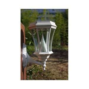 Gama Sonic USA GS 94W WHI Solar Lamp Post Patio, Lawn & Garden