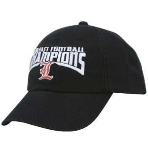 Cardinals Black 2006 Big East Champions Washed Hat