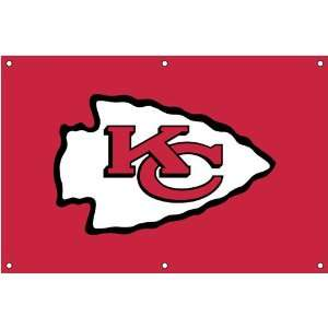 Kansas City Chiefs NFL Applique & Embroidered Team Banner