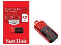 New Sandisk Cruzer Switch 32GB 32 GB USB Flash Memory Pen Drive SDCZ52