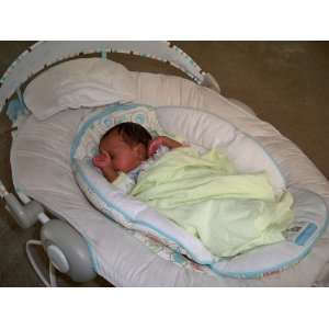Bright Starts Comfort and Harmony Bouncer, Biscotti Baby Baby
