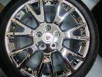 Four 2012 Cadillac CTS Factory 19 Chrome Wheels Tires OEM Rims