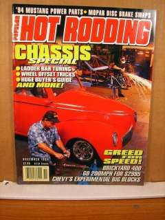 Popular Hot Rodding November 1994 Wheel Ofset Tricks