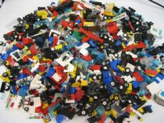 100 LEGO RACECAR PIECES lot cars trucks racing wheels