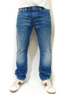 NEW DIESEL Brand Mens Jeans Blue Thanaz 8PI Slim 30 32