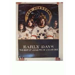Led Zeppelin Poster Early Days Best Of Volume One