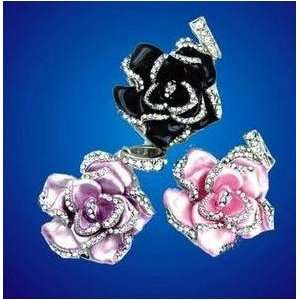 8GB Purple Crystal Rose Design USB Flash Drive Electronics