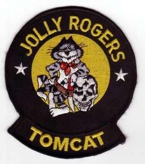 United States JOLLY ROGERS F 14 TOMCAT crest patch