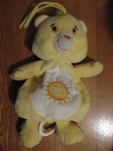 Care Bear musical plush for crib/stroller Funshine 3234
