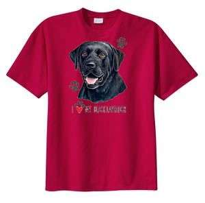 Love My Black Lab Labrador Dog T Shirt S  6x  Choose Color