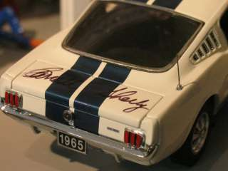 1965 Ford Shelby GT 350 Mustang   SIGNED BY CAROLL SHELBY   Franklin