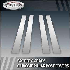 08 12 Mercedes Gl 4Pc Chrome Pillar Post Covers Automotive