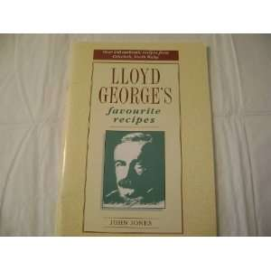 Lloyd Georges Favourite Recipes (9781871083750) John Jones Books