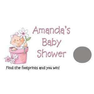 Baby Shower Game   Personalized Scratch Card Baby