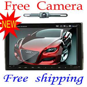 Touch Screen Double Din In dash Car Stereo Ipod Radio  CD DVD