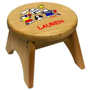 Kids Wooden Step Stool by Holgate Toys
