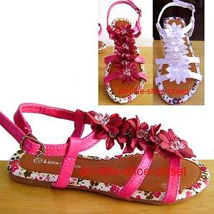 Baby & Toddler Dress Casual Girl Walking Beach Sandal Shoes Size 9, 10