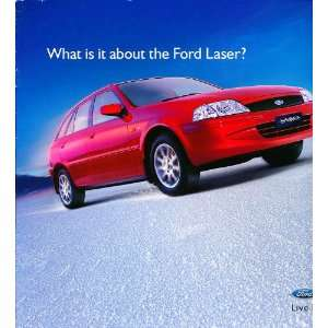 2000 Ford Laser Australian Original Sales Brochure