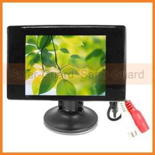 New 2CH CCTV Video Input 3.5 Digital TFT LCD Monitor