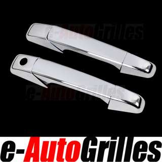 07 08 09 10 11 Chevy Silverado+GMC Sierra Chrome 2 Door Handle Cover