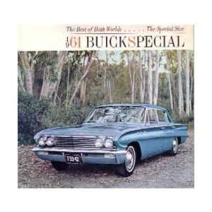 1961 BUICK SPECIAL Sales Brochure Literature Book Piece