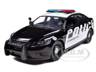 new 1 24 scale diecast model of ford police car interceptor concept